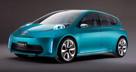 Toyota Prius C Concept 2 in Toyota Prius c Concept: Der hybride City-Flitzer kommt 2012