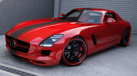 Wheelsandmore Mercedes SLS AMG 2 in