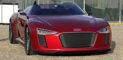 Audi-e-tron-spyder-1 in Plug-in-Hybrid: Audi e-Tron Spyder