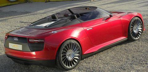 Audi-e-tron-spyder-3 in Plug-in-Hybrid: Audi e-Tron Spyder
