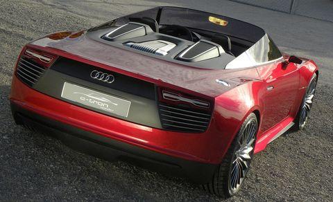 Audi-e-tron-spyder-4 in Plug-in-Hybrid: Audi e-Tron Spyder