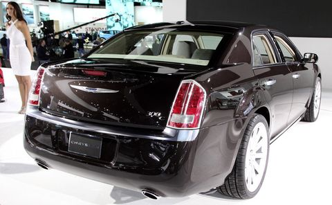 Chrysler-300-c-5 in Lancia oder Chrysler? Neuer 300 C