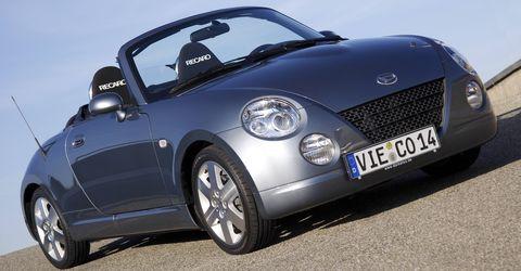 Daihatsu-copen-abschiedsmodell in Daihatsu stellt Verkauf ein