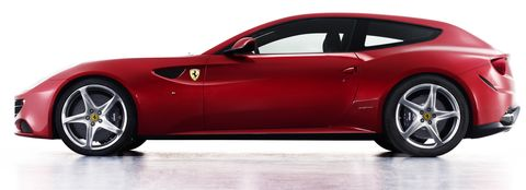 Ferrari-ff-1 in Ferrari FF: Viersitzer mit V12 und Allrad