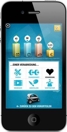 Iphone-iad-twizy-renault in iPhone: Elektroauto Renault Twizy kommt mit iAd