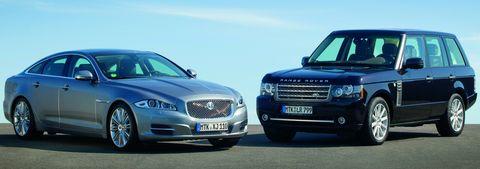 Jaguar-xj-und-range-rover in