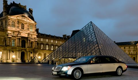 Maybach-louvre-2 in Paris: Maybach kooperiert mit dem Louvre