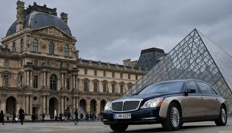 Maybach-louvre in Paris: Maybach kooperiert mit dem Louvre