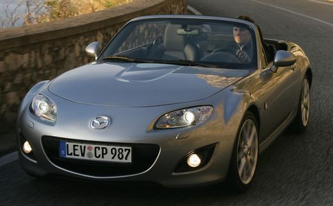 Mazda-mx-5-2 in Der Mazda MX-5 kriegt eine Auffrischung