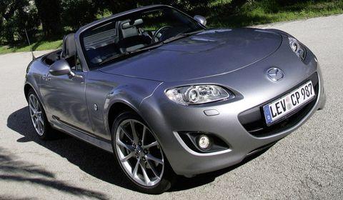Mazda-mx-5 in Der Mazda MX-5 kriegt eine Auffrischung