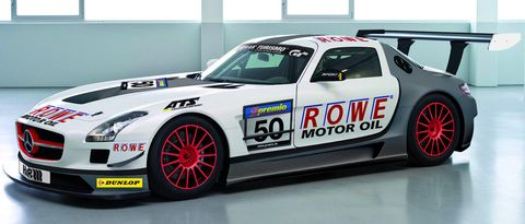 Mercedes-sls-amg-gt3-rowe-racing in Rowe Racing pilotiert zwei Mercedes-Benz SLS AMG GT3