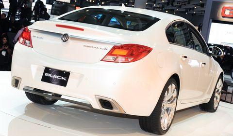 Opel-buick-regal in Opel exportiert den Buick Regal