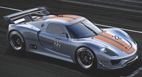 Porsche-918-rsr-1 in Porsche 918 RSR Hybrid: Weltpremiere des V8 mit Elektromotoren