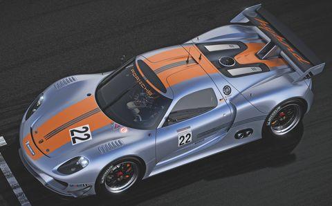 Porsche-918-rsr-2 in Porsche 918 RSR Hybrid: Weltpremiere des V8 mit Elektromotoren