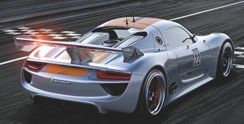 Porsche-918-rsr-3 in Porsche 918 RSR Hybrid: Weltpremiere des V8 mit Elektromotoren