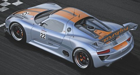 Porsche-918-rsr-4 in Porsche 918 RSR Hybrid: Weltpremiere des V8 mit Elektromotoren
