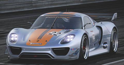 Porsche-918-rsr-7 in Porsche 918 RSR Hybrid: Weltpremiere des V8 mit Elektromotoren