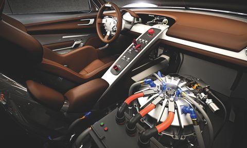 Porsche-918-rsr-8 in Porsche 918 RSR Hybrid: Weltpremiere des V8 mit Elektromotoren