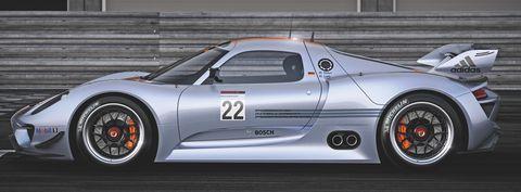 Porsche-918-rsr-9 in Porsche 918 RSR Hybrid: Weltpremiere des V8 mit Elektromotoren