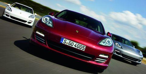 Porsche-panamera in Porsche feiert Erfolge in den USA