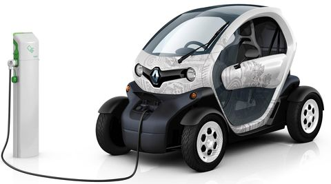 Renault-twizy-3 in iPhone: Elektroauto Renault Twizy kommt mit iAd