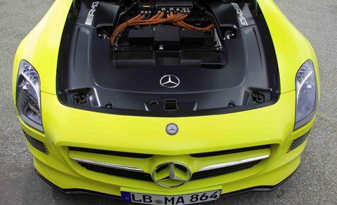Slsamgecell4 in Mercedes-Benz SLS AMG E-Cell kann ab 2013 bestellt werden