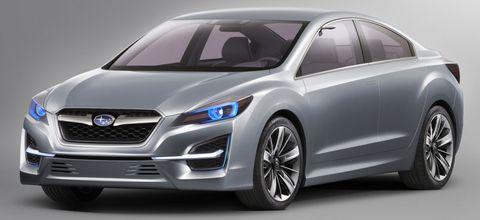 Subaru-impreza-1 in Studie: Subaru Impreza Concept