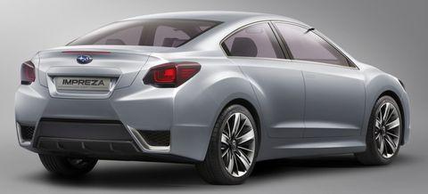 Subaru-impreza-2 in Studie: Subaru Impreza Concept