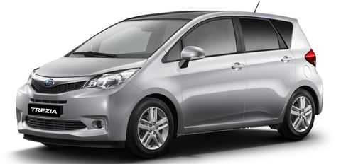 Subaru-trezia in Studie: Subaru Impreza Concept