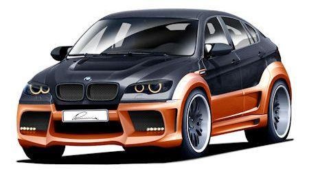 Lumma-CLR-X-650-BMW-X6-2 in Lumma CLR X 650: BMW X6 als Dampfhammer im Renn-Look