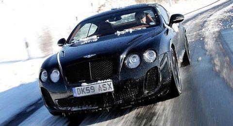 Bentley-speed in Jeder dritte deutsche Autofahrer ist zu schnell