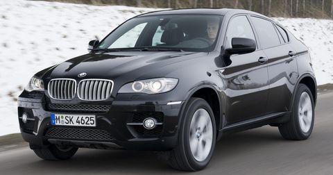 Bmw-x6-1 in BMW X6: Platz für alle