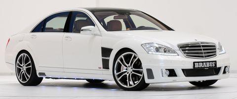 Brabus-mercedes-Benz-s-350-blue-tec in Tuning mit Abgasgewissen: Mercedes S 350 BlueTec von Brabus