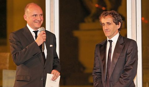 Carlos-rosillo-alain-prost in Bell & Ross: Palme d'Or beim International Automobile Festival