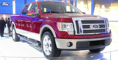 Ford-f-150-pickup in Pickup-Rückruf: Ford F-150 hats an der Tür