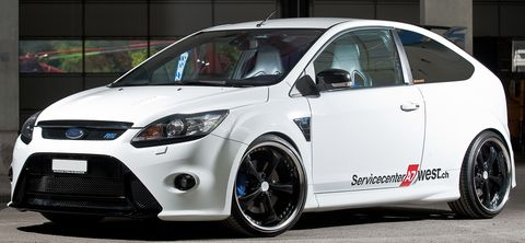 Ford-focus-rs-work-wheels-1 in Ford Focus RS mit Work Wheels