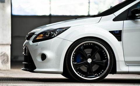 Ford-focus-rs-work-wheels-2 in Ford Focus RS mit Work Wheels