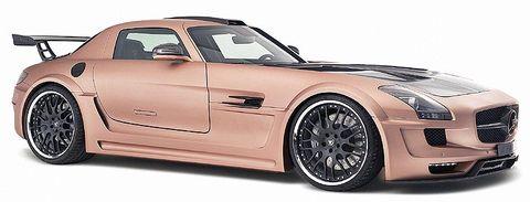 Hamann-hawk-2 in Flügeltürer: Mercedes SLS AMG wird zum Hamann Hawk