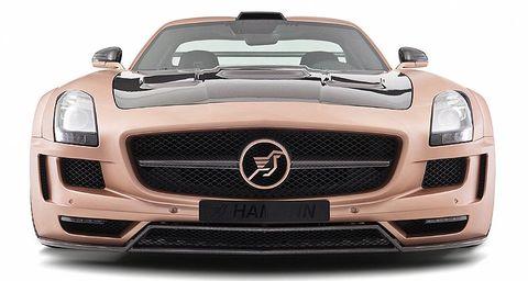 Hamann-hawk-3 in Flügeltürer: Mercedes SLS AMG wird zum Hamann Hawk