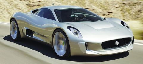 Jaguar-c-x75 in