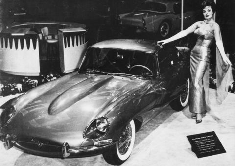 Jaguar-e-type-1961 in Der Jaguar E-Type wird 50