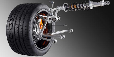 Lamborghini-pushrod in Lamborghini: Murciélago-Nachfolger erhält Formel 1-Komponenten