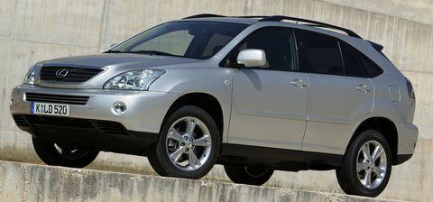 Lexus-rx in Lexus ruft den RX zurück