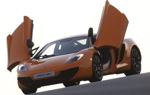 Mclaren-mp4-12c in Brandaktuell: Die technischen Daten des McLaren MP4-12C