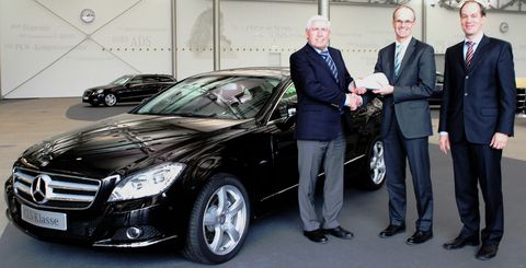 Mercedes-cls-peter-wierlemann in Peter Wierlemann fährt den ersten Mercedes CLS