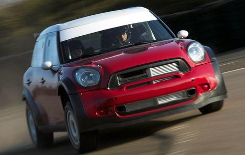 Mini-wrc-1 in Mini: Rückkehr in alte Rallyezeiten