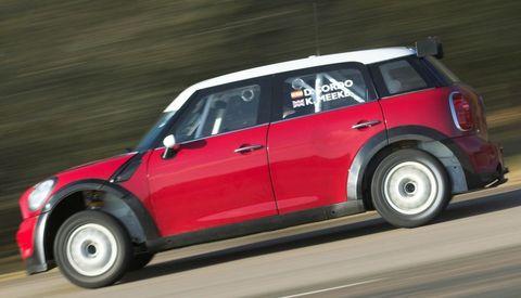 Mini-wrc-2 in Mini: Rückkehr in alte Rallyezeiten