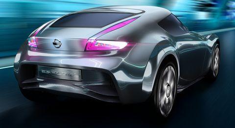 Nissan-esflow-2 in Nissan Esflow: Studie eines Elektro-Sportwagens