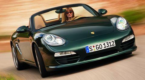 Porsche-boxster-e-elektroauto in Porsche: Elektro-Boxster geht auf Fahrt