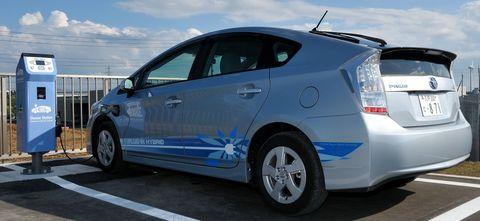 Toyota-stromnetz in Elektroautos: Toyota arbeitet am Stromnetz